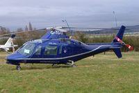 G-TGRA @ EGBC - Agusta A.109A [7201] Cheltenham~G 12/03/2009. Seen at Cheltenham Racecourse during Gold Cup Week.