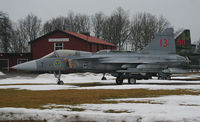 39113 @ ESIB - Standing outside the gates of Såtenäs Air Base - by Krister Karlsmoen