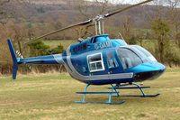 G-OAMI @ EGBC -  Bell 206B Jet Ranger [464] Cheltenham~G 13/03/2009. Seen at Cheltenham Racecourse during Gold Cup Week.