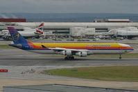 6Y-JMC @ EGLL - Air Jamaica A340-300 - by Andy Graf-VAP