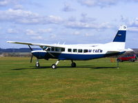M-YAKW @ EGSP - Privately owned - by Chris Hall