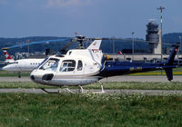 HB-ZFA @ LSZH - Parked at the Heliport area... - by Shunn311
