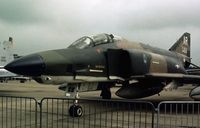 66-0424 @ GREENHAM - RF-4C Phantom of 1st Tactical Reconnaissance Squadron/10th Tactical Reconnaissance Wing at RAF Alconbury on display at the 1977 Intnl Air Tattoo at RAF Greenham Common. Sadly, this aircraft and crew were lost two months later - R.I.P - by Peter Nicholson