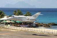 N103AL @ TNCM - N103AL landing at TNCM runway 10 - by Daniel Jef