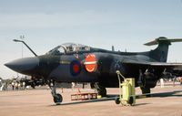 XT283 @ MHZ - Buccaneer S.2A of RAF Lossiemouth's 237 Operational Conversion Unit on display at the 1982 RAF Mildenhall Air Fete. - by Peter Nicholson