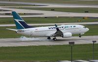 C-GVWJ @ TPA - West Jet 737-700