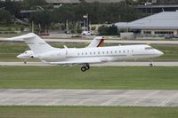 LX-VIP @ TPA - Global Express from Luxemburg - by Florida Metal