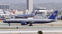 N582UA @ KLAX - Taxi at LAX - by Todd Royer