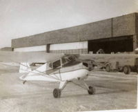 CF-RPM @ CYPA - 1946 Taylorcraft BC12-D at Prince Albert, Sask. Canada - by William Young (Owner in 1967)
