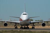 N701CK @ SHJ - Kalitta Air Boeing 747-200