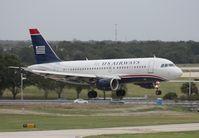 N708UW @ TPA - US Airways A319