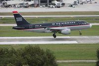 N732US @ TPA - US Airways A319