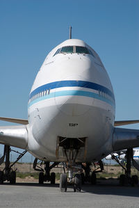 J2-SHF @ SHJ - Kinshasa Boeing 747SP