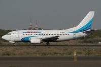 VP-BRQ @ SHJ - Yamal Boeing 737-500