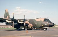 74-1689 @ MHZ - C-130H Hercules of Dyess AFB's 463rd Tactical Airlift Wing on display at the 1982 RAF Mildenhall Air Fete. - by Peter Nicholson