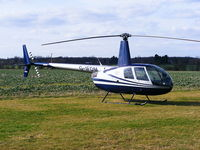 G-IFDM @ EGSF - MFH Helicopters Ltd Robinson R44 Astro - by Chris Hall