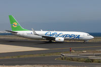 5B-DBR @ GCRR - Eurocypria B737 at Arrecife , Lanzarote in March 2010 - by Terry Fletcher