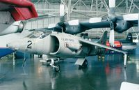 64-18262 - Hawker Siddeley XV-6A Kestrel of the USAF at the USAF Museum, Dayton OH