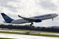 G-OJMB @ EGCC - Thomas Cook Airlines Airbus A330-243 - by Peter Baireder