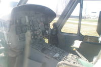 66-0497 @ BNW - Instrument panel still pretty much intact - by Glenn E. Chatfield