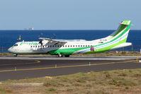 EC-LAD @ GCRR - Binter ATR72 at Arrecife , Lanzarote in March 2010