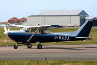 G-RABA @ EGNH - Air Ads Ltd - by Chris Hall