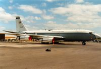 61-0286 @ MHZ - Silk Purse airborne command post on display at the 1989 RAF Mildenhall Air Fete. - by Peter Nicholson