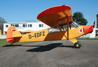 D-EDFZ @ EDTF - Piper PA-18 Super Cub - by J. Thoma