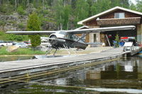 C-GKBW - C-GKBW at Eva Lake, Kashsabowie Floatplane base - by Mark Putzer