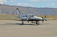 N24PT @ KGJT - 1977 Cessna Conquest - Grand Junction (KGJT) - by Ricardo Coppola