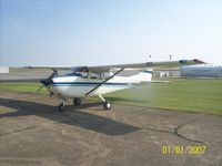 N5158F @ KTWT - 8850TT, very nice flying aircraft, full IFR - by G. Vincent