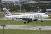 N929FR @ TPA - Frontier Larry the Lynx A319