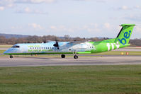 G-JEDP @ EGCC - FlyBE - by vickersfour