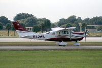 N32HS @ ORL - Cessna T206H