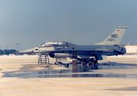80-0623 @ MCF - F-16B Falcon of 72nd Tactical Fighter Training Squadron at MacDill AFB in November 1987. - by Peter Nicholson