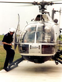 G-BFYA - Police MBB BO 105 taken in mid-nineties in the UK - by BJ Reid