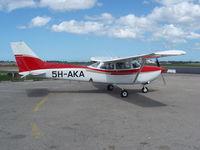 5H-AKA @ HTDA - Cessna 172RG Cutlass 11 formally N9427B - by Mosswood Aviation