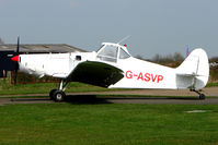 G-ASVP - Piper Pawnee refuels in between acting as tug for the Hinton gliders