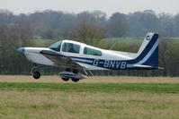 G-BNVB - 1978 Grumman American Aviation Corporation GRUMMAN AA-5A, landing at Hinton