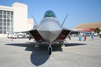 06-4119 @ MCF - F-22A Raptor - by Florida Metal