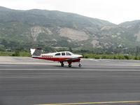N9660Y @ SZP - 1962 Beech P35 BONANZA, Continental IO-470-N 260 Hp, takeoff roll Rwy 22 - by Doug Robertson