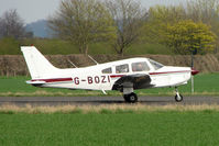 G-BOZI @ EGBW - 1981 Piper PIPER PA-28-161 at Wellesbourne - by Terry Fletcher