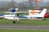 G-BKGW @ EGBW - 1981 Reims Aviation Sa REIMS CESSNA F152 at Wellesbourne