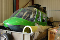 EI-CAW @ EGBW - Bell 206B now withdrawn from use for spares