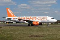 G-EZAI @ EGHH - Easyjet A319 at Bournemouth