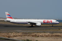 OK-CED @ GCRR - CSA A321 at Arrecife