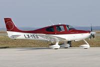 LX-YES @ EDRZ - SR22 Turbo - by Volker Hilpert