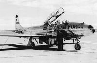 58-0623 - Lockheed T-33 at Malmstrom AFB, 1975 - by Onmark57