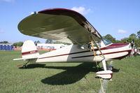N2032V @ KLAL - Cessna 120 - by Mark Pasqualino