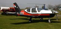 G-JDEE @ EGCF - Just visiting - by Paul Lindley